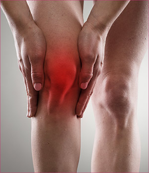 Clinical studies on PRP therapy for knee pain.